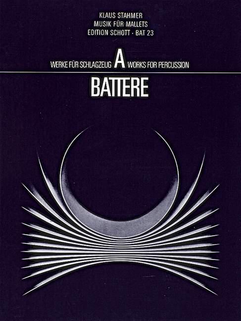 Bien éDuqué Musik Für Maillets Stahmer, Klaus Hinrich Performance Score 2 Malletinstruments (-nts ( Fr-fr Afficher Le Titre D'origine